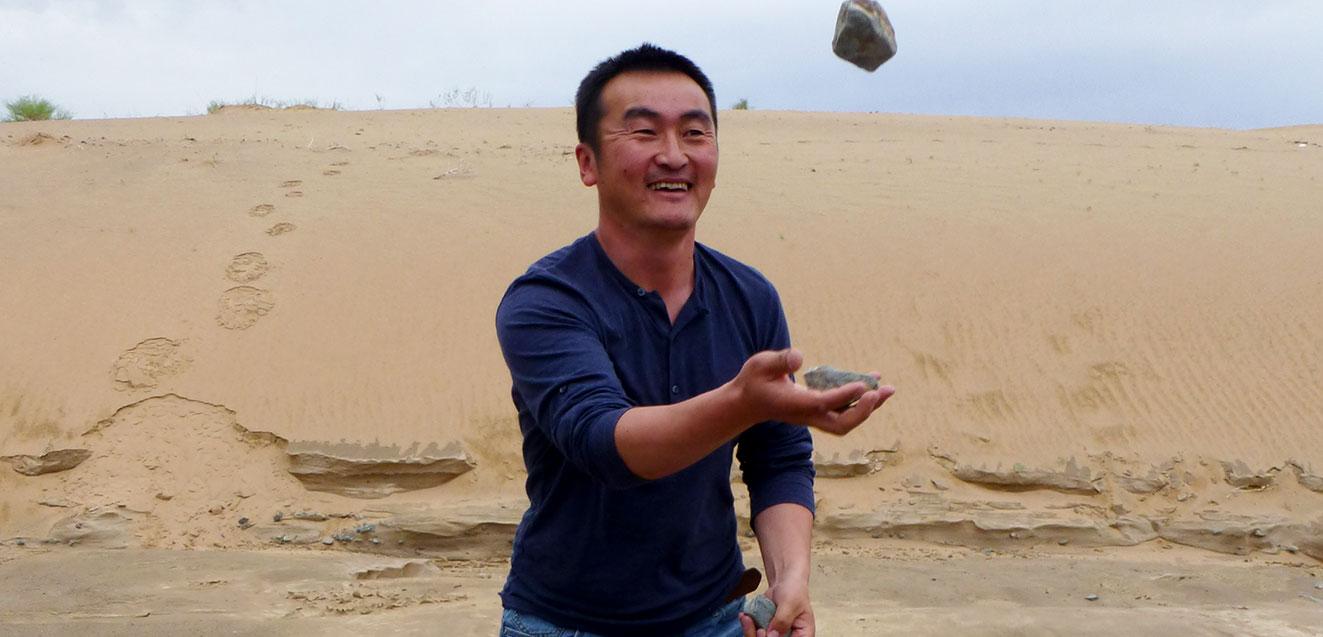 GeoEx Mongolia guide Ishee Battulga