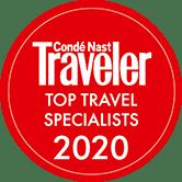2020 Condé Nast Traveler Top Travel Specialists Award