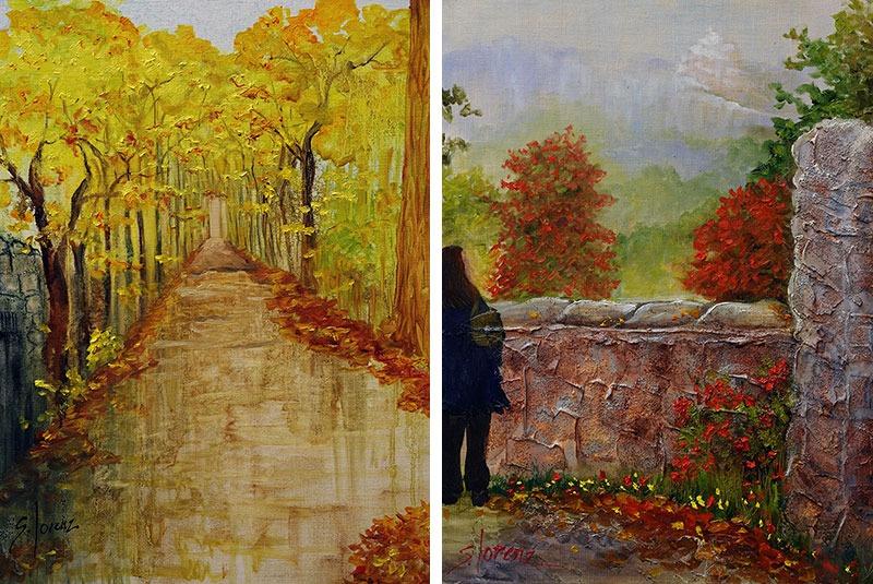 Sue Lorenz paintings