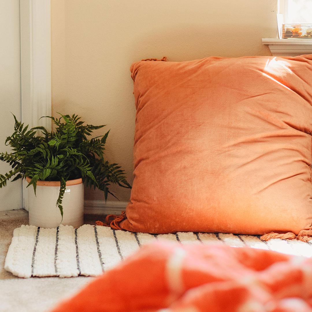 Cozy reading / creativity area.