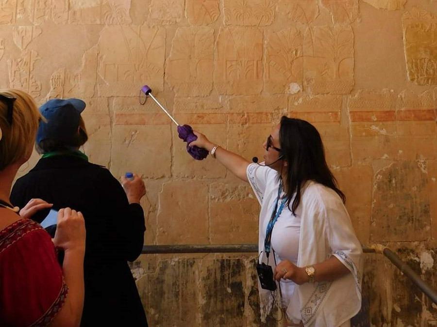 GeoEx Egyptologist Dina Talaat