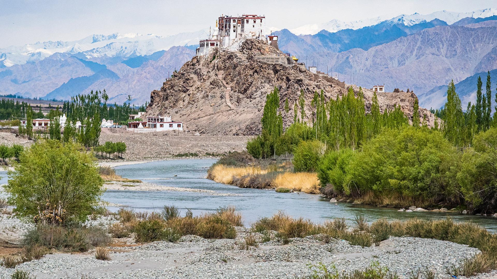 Stakna Monastery in Ladakh, India