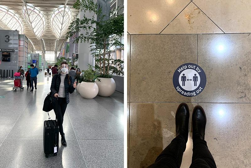 GeoEx trip designer Natalie Crow en route to Mexico