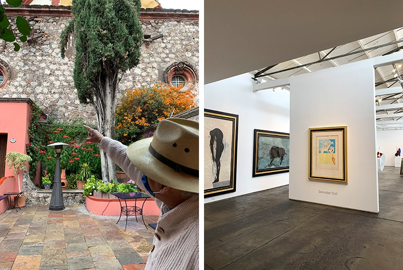 A guided tour of colonial architecture and modern art in San Miguel de Allende, Mexico