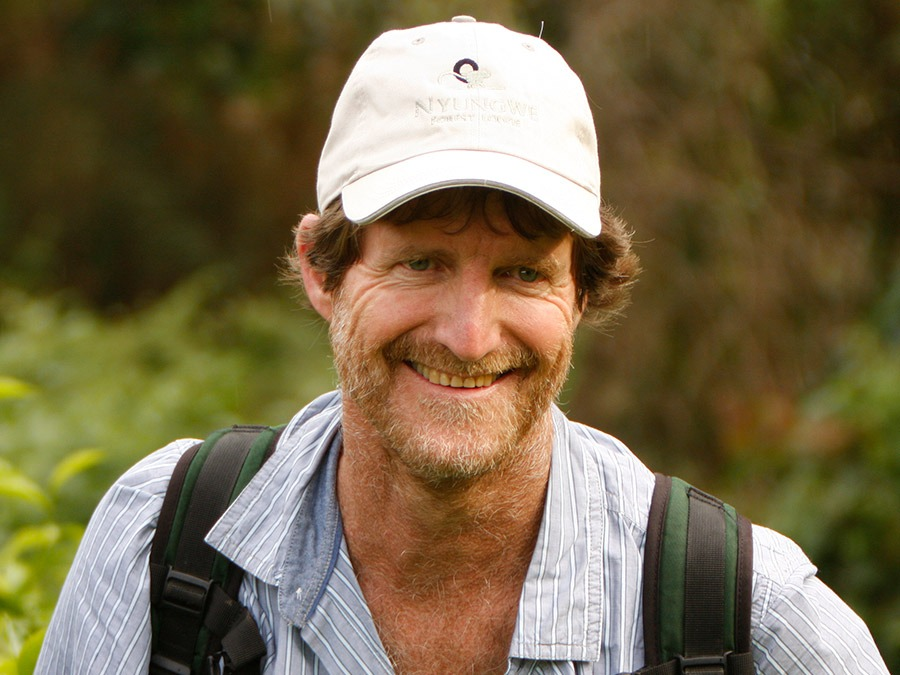 GeoEx Trip Leader and wildlife conservationist Colin Bell