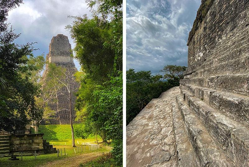Temple 4 at the Mayan site of Tikal, Guatemala