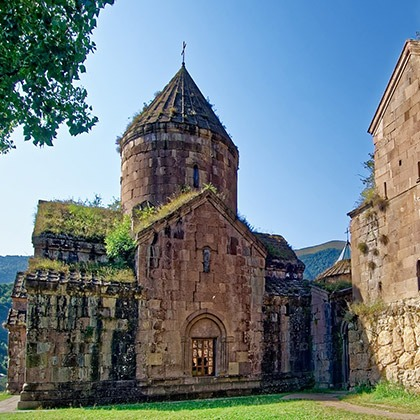 The monastery of Goshavank, Armenia