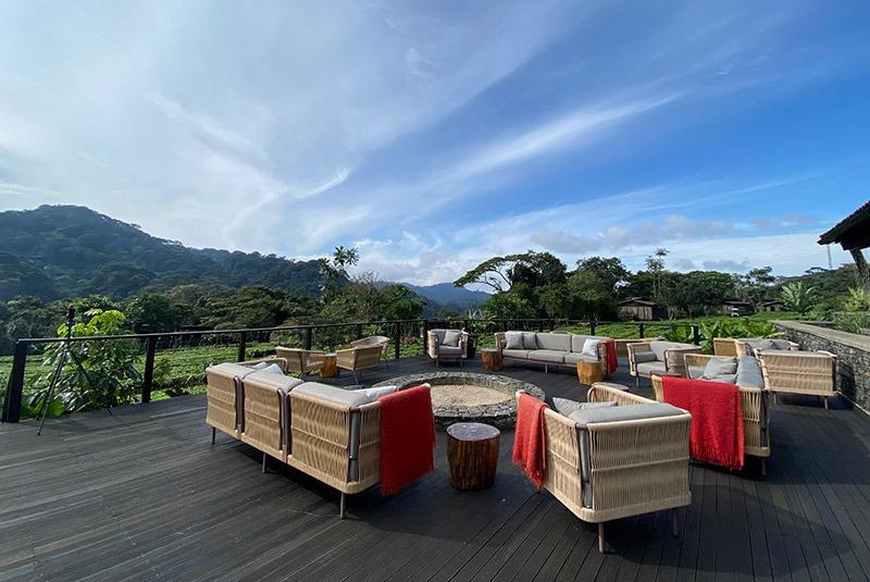 Luxury safari lodge in Volcanoes National Park, Rwanda
