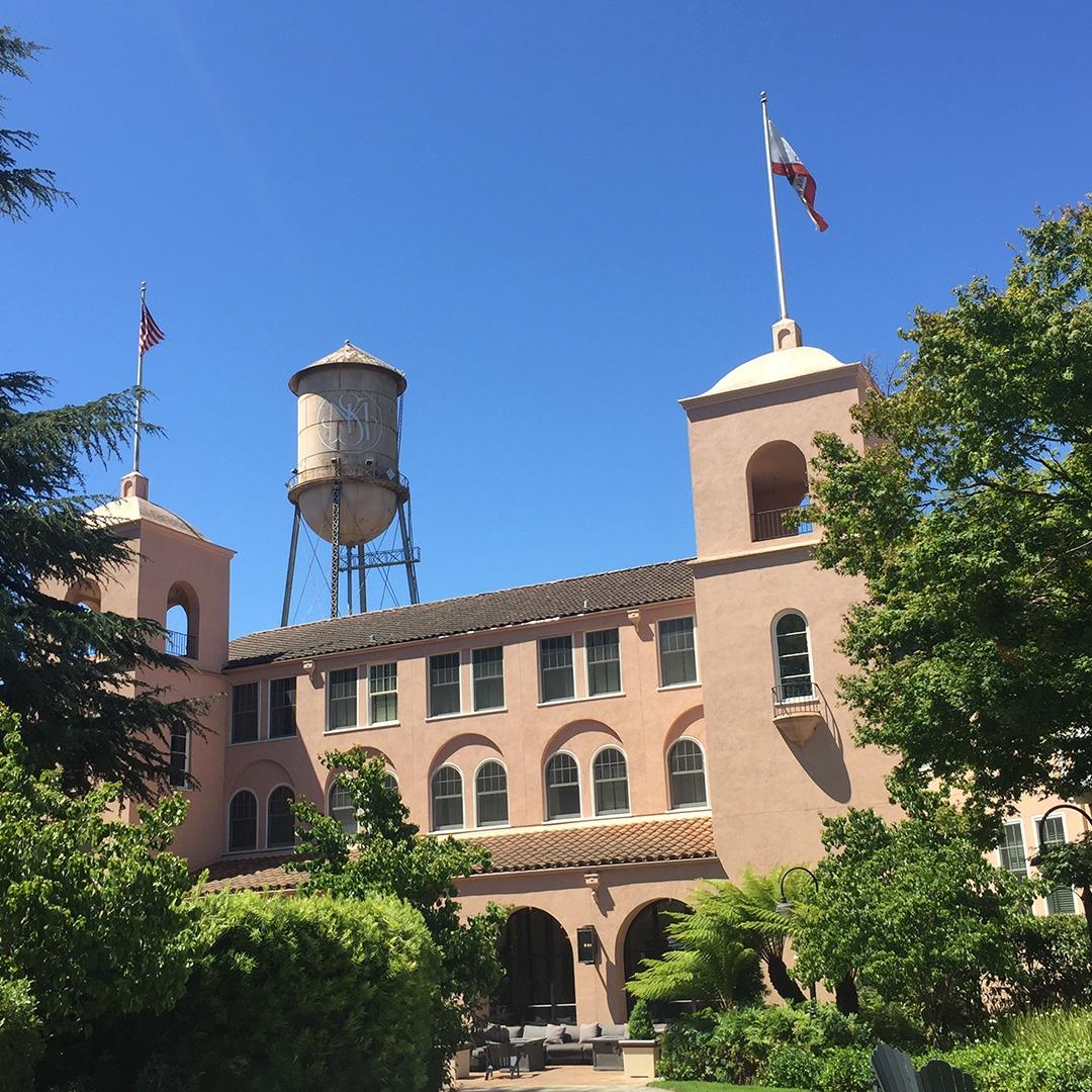 Architecture of the Fairmont Sonoma Mission Inn