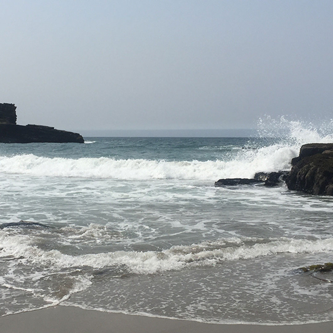 California coast beach
