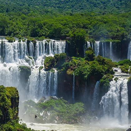 Cascades of Iguazu Falls, Argentina