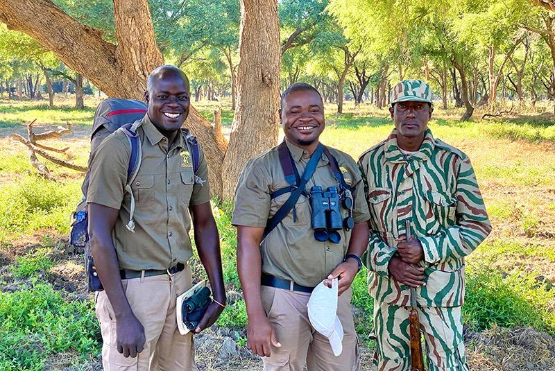 Guides in Lower Zambezi National Park, Zambia